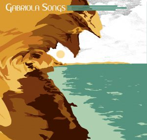 gabriola songs cover, mike swallow, little blue dog design, Malaspina galleries