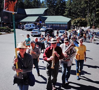 gabriola Music, gabriola, gabriola musician, gabriola songs, gabriola cultivate, ken capon, marching band
