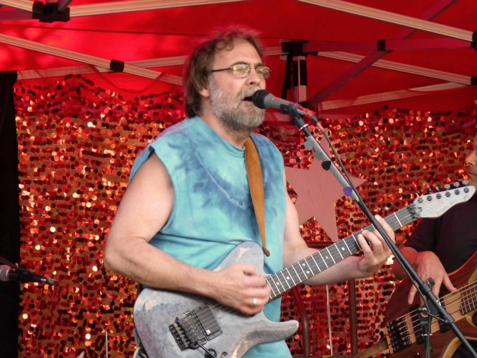 Gabriola Musician, John Gresham, Open Stage Surf